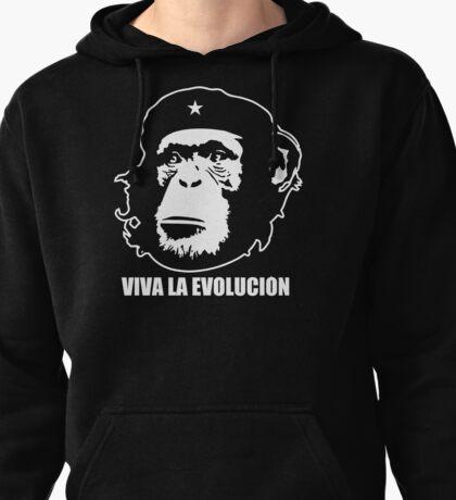 VIVA LA EVOLUCION - Evolution - Funny T-Shirt - Che Guervara Monkey S - XXXL Pullover Hoodie