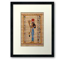 Hathor, Lady of Amentet Framed Print