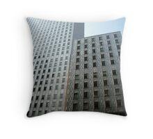 Modern Metropolis Throw Pillow