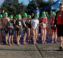 Kingscliff Triathlon 2011 Swim leg C233 by Gavin Lardner