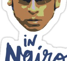 In Nairo We Trust : Illustration on Movistar Green Sticker