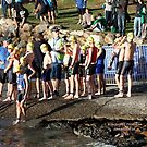 Kingscliff Triathlon 2011 Swim leg C237 by Gavin Lardner