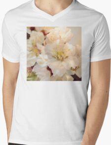 Beautiful blossoms on white T-Shirt