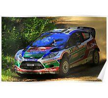 Ford Fiesta WRC Poster