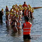 Kingscliff Triathlon 2011 Swim leg C253 by Gavin Lardner