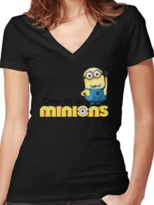 AVAILABLE SIZES S TO XXL, ONE IN A Banana Mens funny t-shirt Women's Fitted V-Neck T-Shirt