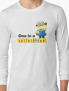 AVAILABLE SIZES S TO XXL, ONE IN A Banana Mens funny t-shirt Long Sleeve T-Shirt