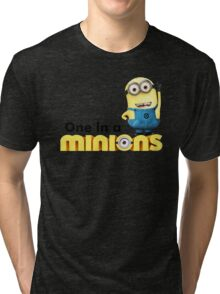 AVAILABLE SIZES S TO XXL, ONE IN A Banana Mens funny t-shirt Tri-blend T-Shirt