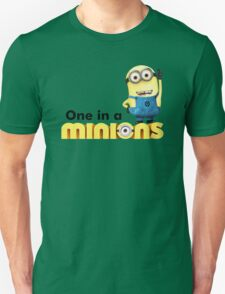 AVAILABLE SIZES S TO XXL, ONE IN A Banana Mens funny t-shirt Unisex T-Shirt