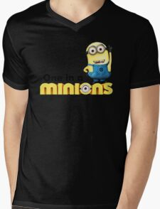 AVAILABLE SIZES S TO XXL, ONE IN A Banana Mens funny t-shirt Mens V-Neck T-Shirt