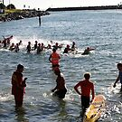Kingscliff Triathlon 2011 Swim leg C287 by Gavin Lardner