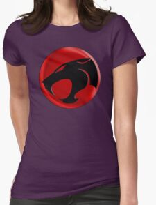 AVAILABLE SIZES S TO XXL, THUNDERCATS (BLACK)! Mens funny t-shirt Womens Fitted T-Shirt