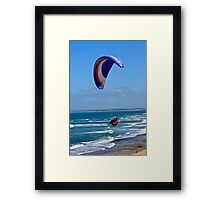 Wind Walkers Framed Print