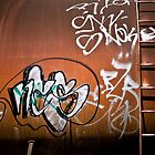 Train Grafitti III by morealtitude