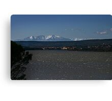 Freezing Febuary in France Canvas Print