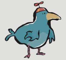 propellerhat blue bird by greendeer
