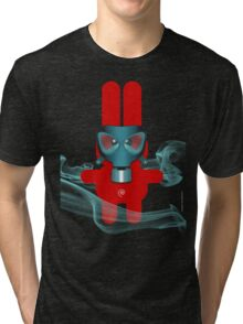 RABBIT 7 (TOXIC TIME) Tri-blend T-Shirt