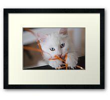 Odette Celebrating Framed Print