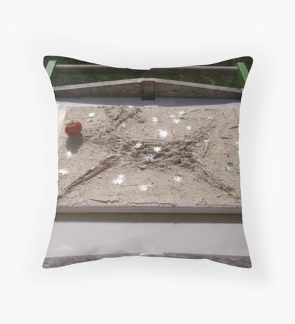 WINTER - LORD STAG AS RUDOLPH - 6 TAKING TIME OUT Throw Pillow