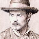 Timothy Olyphant miniature by wu-wei