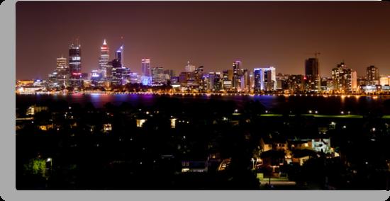 Perth City Lights by Pene Stevens