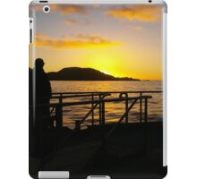 Sunset on Milford iPad Case/Skin