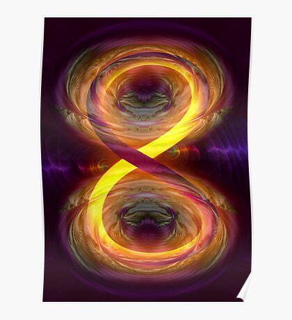 Eternity's constant feedback loop Poster