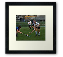 091611 097 0 field hockey Framed Print