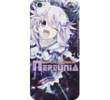 Hyperdimension Neptunia Re;Birth - Neptune - Title Text - FRICTION EDIT iPhone Case/Skin