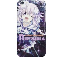 Hyperdimension Neptunia Re;Birth - Neptune - Title Text - FRICTION EDIT iPhone Case/Skin