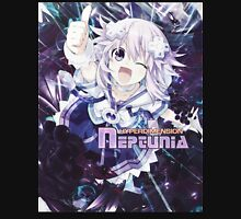 Hyperdimension Neptunia Re;Birth - Neptune - Title Text - FRICTION EDIT Unisex T-Shirt