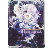 Hyperdimension Neptunia Re;Birth - Neptune - Title Text - FRICTION EDIT iPad Case/Skin
