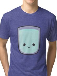 Cute Glass Of Water Tri-blend T-Shirt