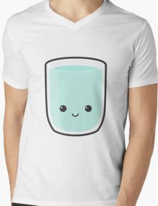 Cute Glass Of Water Mens V-Neck T-Shirt