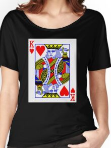 King Of Heart Women's Relaxed Fit T-Shirt