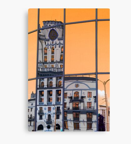 Orange world Canvas Print
