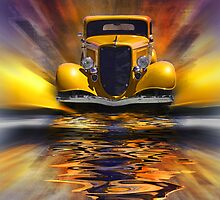 Yellow Splash by CarolM
