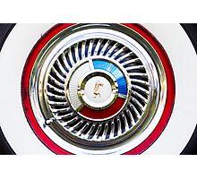 Ford Fairlane Galaxie rim Photographic Print