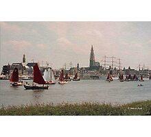 Antwerp Harbour Photographic Print