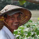 Smiling Vietnamese Farmer by lmcp 27
