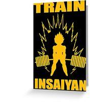 Train Insaiyan 11  Greeting Card
