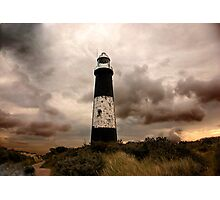 The Old Lighthouse - Spurn Point. Photographic Print