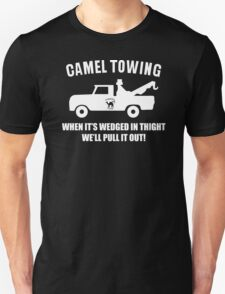 Camel Towing Funny T Shirt Adult Humor Rude Gift Tee Shirt Tow Truck Unisex Tee Unisex T-Shirt