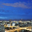 Kuala Lumpur Skyline Towards Genting by lmcp 27