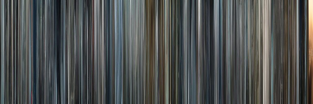 Moviebarcode: Minority Report (2002) by moviebarcode