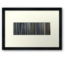 Moviebarcode: Minority Report (2002) Framed Print