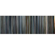 Moviebarcode: Minority Report (2002) Photographic Print