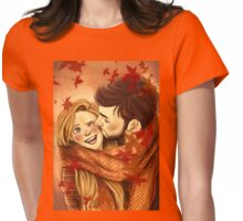 Captain Swan in autumn Womens Fitted T-Shirt
