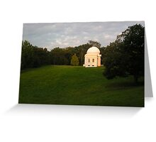 Fuertes Observatory, Cornell University Greeting Card