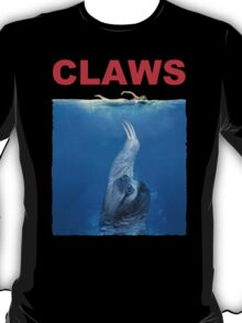 Claws Jaws Spoof parody Cute Sloth Hipster Premium Quality T-Shirt